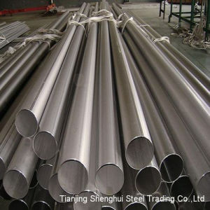 Competitive Welded Stainless Steel Pipe (202) pictures & photos