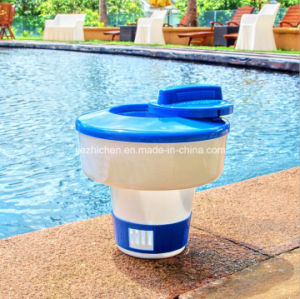 China Collapsible Swimming Pool Chemical Dispenser For Tablets Floating Chemical Feeder China