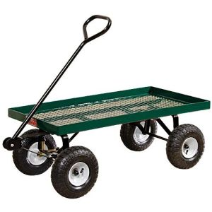 Metal Deck Garden Cart pictures & photos