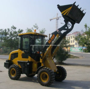 High Quality 1t Mini Wheel Loader with 0.6m3 pictures & photos
