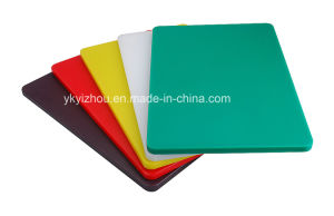 Kitchen Plastic Food Cutting Board pictures & photos
