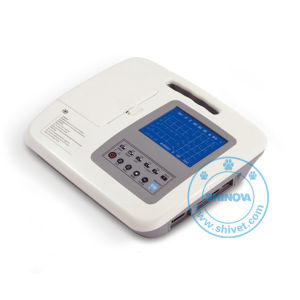 Three-Channel Digital Electrocardiograph for Veterinary (ECG-30LV) pictures & photos