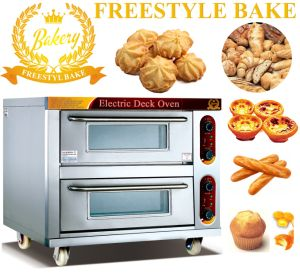2 Trays Electric Bread Oven in Food Equipment with 2 Decks (WDL-2-2)