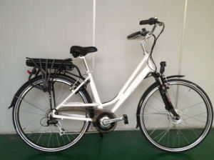 En15194 Certificate Electric Bicycle with Rear Rack Battery (CB-26N01-2) pictures & photos