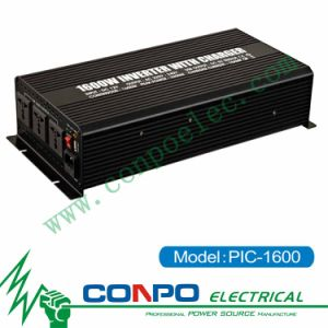 Pic-1600 1600W Modified Sine Wave Inverter with Charger pictures & photos