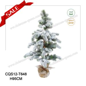 H95-H150cm 2017 Real Touch Artificial Christmas Tree Holiday Decoration with Light