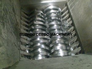 Double-Shaft Shredder for Plastic Film pictures & photos