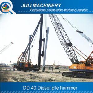 Dd 40 Diesel Hammer. Dd 40 Pile Hammer. Diesel Piling Hammer