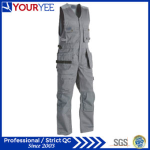 OEM Polyester Cotton Breathable Sleeveless Work Overalls for Sale (YBD124) pictures & photos