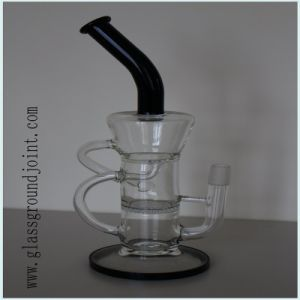 Borosilicate Glass Smoking Water Pipe Hookah with Ground Joint