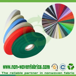100% PP Spunbonded Nonwoven Fabric Roll pictures & photos