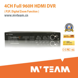 4CH Full 960h RoHS DVR Support P2p Function (MVT-6504D) pictures & photos
