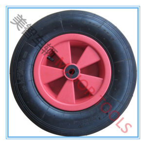 13 Inch Pneumatic Rubber Jockey Wheel 4.00-6 pictures & photos