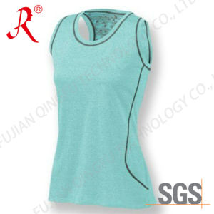 Fitness Casual Sleeveless T Shirt /Tank Tops (QF-S261) pictures & photos