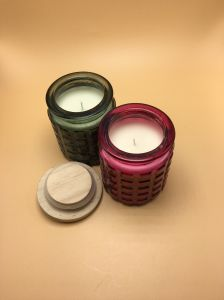 Top Quality Citronella Scented Glass Jar Candle pictures & photos