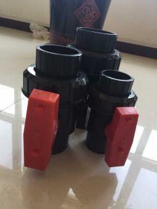 ASTM/DIN Good Quality PVC Single Union Ball Valve pictures & photos