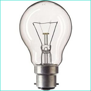 110-130V Clear B22 Base Incandescent Lamp pictures & photos
