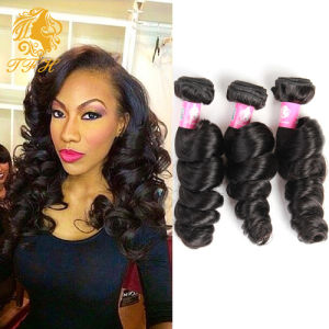 Malaysian Virgin Hair Extension 4 Bundles Human Hair Malaysian Loose Wave Rosa Hair Products 7A Unprocessed Virgin Hair Weave pictures & photos