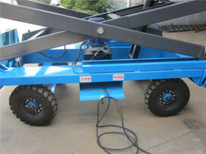 Self Propelled Mobile Hydraulic Lift (SJY0.5-12) pictures & photos