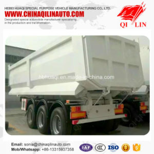 Qilin China Factory Price Customized Box Tipper Truck Trailer pictures & photos