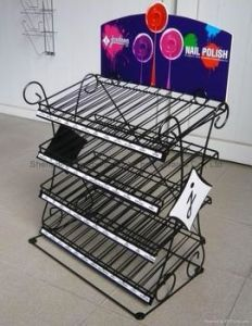 Store or Supermarket Wire Rack for Display pictures & photos