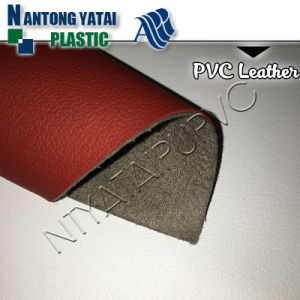 Synthetic PVC Leather for Various Sofa /Car Seat/Motorcycle/Upholstery pictures & photos