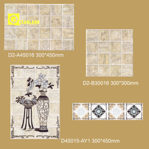 30X45cm Listello Bathroom Hand Painted Border Tiles on Sale pictures & photos