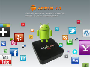 2017 Latest in The Market Mxq PRO Amlogic S905W 1g 8g Android7.1 Set Top Box pictures & photos