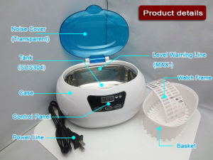 Ultrasonicl Cleaner for All Kinds of Watches pictures & photos