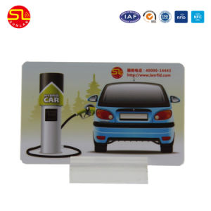 ISO14443A Rewritable NFC Chip Card/RFID Card/Smart Card with Mf DESFire 2k/4k/8k Chip pictures & photos