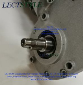 48V 180W 88rpm Electric PMDC Worm Gear Drive Motor on Auto Welding Equipment pictures & photos