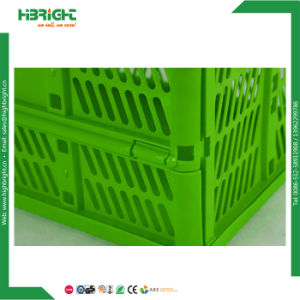 Plastic Nestable Storage Box Crate for Books and Retailing Stores pictures & photos