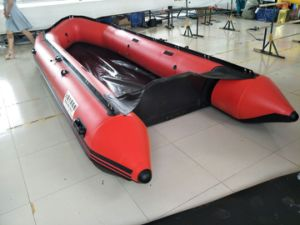 4.8m PVC Water Boat with Wearproof Bottom pictures & photos