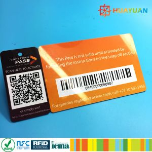 Mini card included Plastic combo loyalty membership card pictures & photos