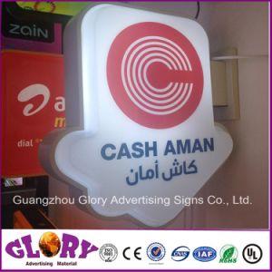 Custom Made Irregular Sign Advertising Light Box pictures & photos