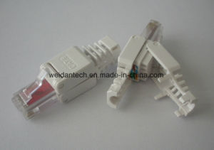 CAT6 UTP Tooless RJ45 Plug Module pictures & photos