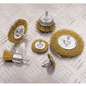 Power Tools Accessories 6PCS Steel Wire Brush Set pictures & photos