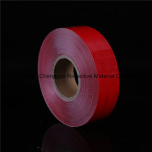 Solid Red Self-Adhesive Reflective Material pictures & photos