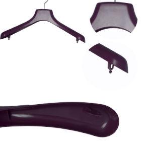 Wide Shoulder Heavy Top Clothes Plastic Hangers on Sale pictures & photos
