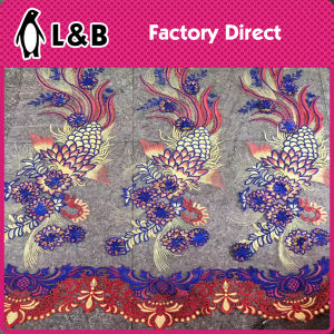 Polyester Textile Small Flower Lace Fabric pictures & photos