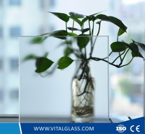 3-12mm Patterned/Figured Glass/Clear Tempered Building Glass pictures & photos