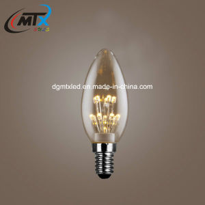 2200k 95ra 4W C35 LED Candle Starry Bulb for sale pictures & photos