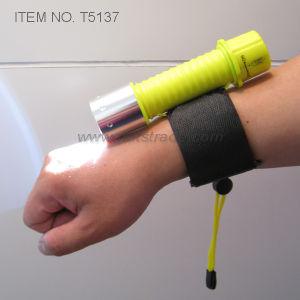 Diving LED Flashlight with Adjustable Arm Band (T5137) pictures & photos