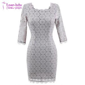 New Fashion Ladies Bodycon MIDI Party Dress (L36047) pictures & photos