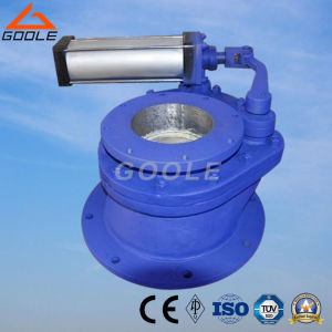 Pneumatic Swing Ceramic Feed Valve (GBZ643TC) pictures & photos