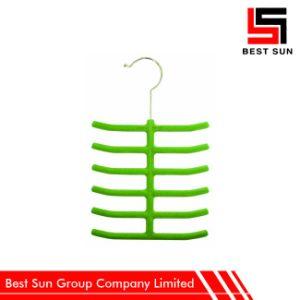 Custom Design Velvet Cabinet Tie Hanger pictures & photos