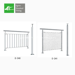 Stainless Steel Balustrade Handrails pictures & photos
