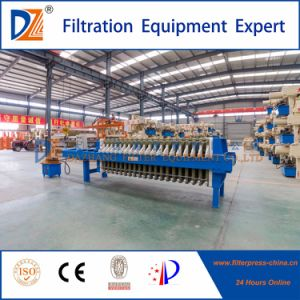 Dz Automatic Filter Press Machine for Wastewater Treatment pictures & photos