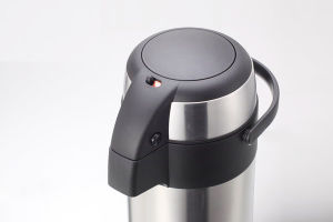 Hotel Thermos Tea Coffee Pot Double Wall Stainless Steel (ASUC) pictures & photos