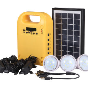 Portable Solar Charger Lighting Kit with Radio pictures & photos